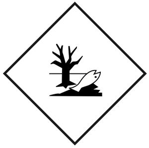 Miljöfarliga ämnen - 25x25 cm - 25 st