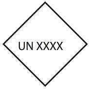 Valfrit UN Nr. 10x10cm