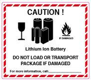 Varning Ion Batteri